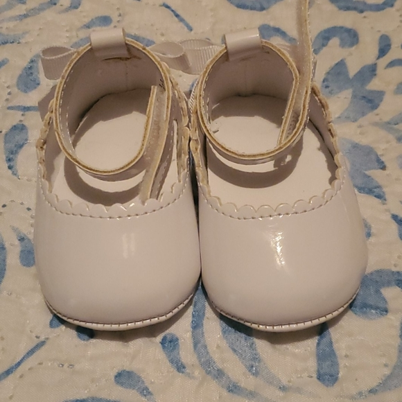 trimfoot Shoes | Baby Girl White